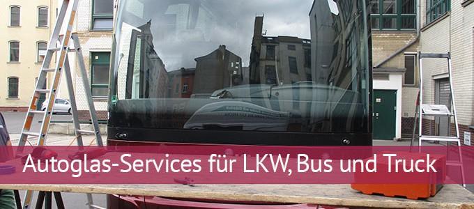 Autoglas LKW / Lastwagen
